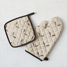 Oven Mitts, Quilted Oven Mitts & Retro Oven Mitts | West Elm