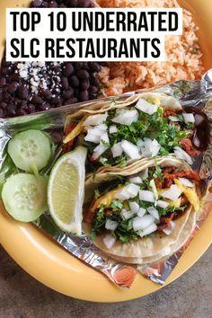 Top 10 Most Underrated Salt Lake City Restaurants - Female Foodie Slc Restaurants, Salt Lake City Restaurants, Mexican Restaurants, Park City Utah, Salt Lake City Utah, Downtown Salt Lake City, Utah Food, Slc Utah, Salt Lake County