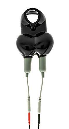 DR. ELECTRO Sack Shocker, ESTIM Hodenbeutel mit Penisring, für kribbelnde Elektrostimulation (Black)
