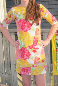 The Crafty Novice: DIY Sew: 1 yard Knit Dress