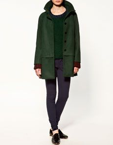 This coat is gorgeous.
