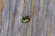 Sale 15 off Ethiopian Welo opal necklace opal by NadeanDesigns