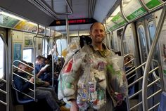 One man's trash suit is another woman's work of art
