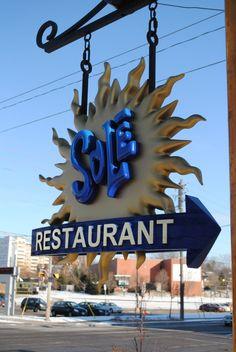 Restaurant Wayfinding - Sole Waterloo Ontario