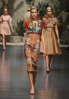 Dolce and Gabbana - Summer 2013