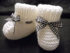 tuto tricot chaussons parti 1 - YouTube
