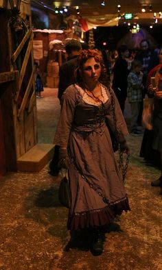 The Spirit of Nancy (from Oliver Twist) returns to haunt her murderer