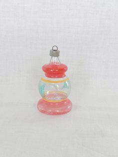 vintage glass ornament Christmas ornament by vintagebyclaudine