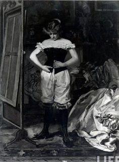 Historical underwear, 19th century