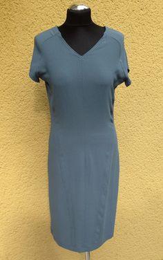 WOMEN 2014 dress georgette gray/blue