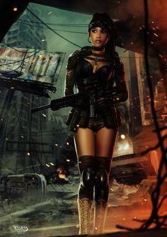sekigan:  cyberpunk, dystopia | Cyber-oscity | Pinterest