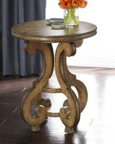 Charmant Ambella Marisol Side Table Traditional Side Tables And Accent Tables
