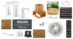 Win Pfister's new Kelen bath faucet and this modern-styled prize package by entering today