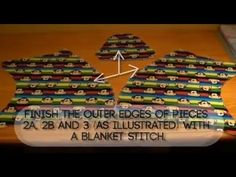 The new video from DiNuvoleDiCuori to create Stellina the Blankie is online on YouTube!