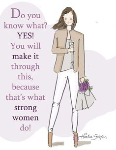This us what strong women do.