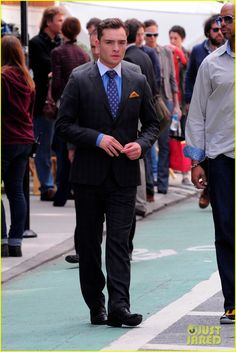 another great chuck bass suit