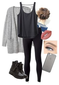 """""""Hanging with the guys"""" by savagesabisch on Polyvore featuring beauty, Jockey, Kavu, Lime Crime and Native Union"""
