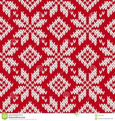 Nordic Knitted Seamless Pattern - Download From Over 28 Million High Quality Stock Photos, Images, Vectors. Sign up for FREE today. Image: 32757038
