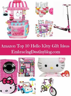 The best deals and ideas for Hello Kitty fans! Top 10 Hello Kitty Gift Ideas. 12 Days of Christmas Gift Guides at embracingdestinyblog.com