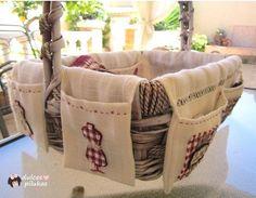 ¡Vas a querer elaborar esta cesta de costura!