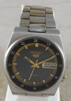 Original VINTAGE SEIKO 5 Automatic 17J Japan 7009-3101 Running Watch D&D@3#w2307 #Seiko