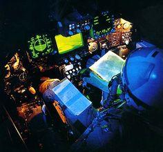 F117 cockpit