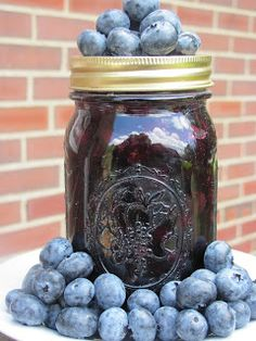 Creating Nirvana: Canning blueberries for baking