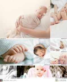 Baby Photography - the little features