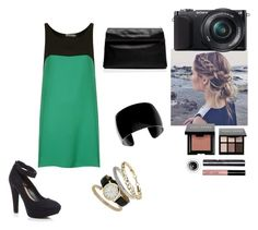 No. 178 by emmurray-md on Polyvore featuring Love, Forever New, Topshop, Bobbi Brown Cosmetics and Sony