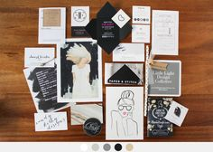 Black + White | M O O R E A S E A L: Altitude Summit SLC Business Card Round-Up // 2014
