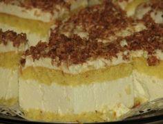 Sernik na biszkopcie Croatian Recipes, Polish Recipes, Tiramisu, Cheesecake, Ethnic Recipes, Food, Cakes, Drinks, Drinking