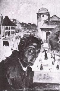 autoportrait - (Edvard Munch)