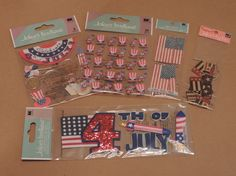 Hey, I found this really awesome Etsy listing at https://www.etsy.com/listing/189208451/4th-of-july-scrapbook-sticker-collection