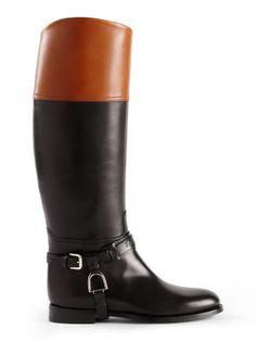 Bottes déquitation en cuir Sage - Voir tous les articles Accessoires Automne 2015 - Ralph Lauren France