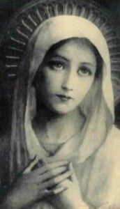 """As Christ hung dying on the cross he looked at his favorite disciple and said, """"Behold your Mother!"""""""