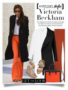 """Victoria Beckham:"" by captainsilly ❤ liked on Polyvore featuring Victoria Beckham, Derek Lam, Stuart Weitzman and Henri Bendel"