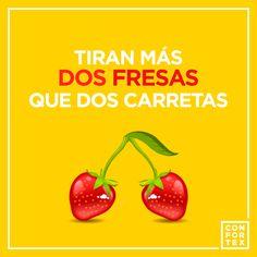 ¿ Qué tal si cambiaños un poco el refrán? 🍓🍓   #fresas #frases #frase #strawberry #sexy #woman #women #girls #girl #chica #chicas #mujer #sexualidad #sexy #refran #refranes #espana #spain #frasedeldia #popular #color #desing #frasesenespañol #frasesdeamor #friends #confortexcondom #confortex #condones #condoms #safesex #sexoseguro #hot #cool #art #color #love #amor #lovers #happy #instagood #feliz #insta #beso #besos #kiss #instragram #frase #instalove #enjoy #divertido #sexshop…