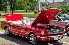 Ford Mustang Convertible, if I was half a mechanic I would get one of these
