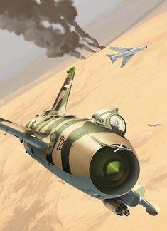 Sukhoï Su-7 Over irak