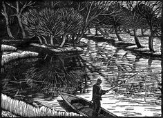 Gwen Raverat's wood engravings are on show at Kettle's Yard, Cambridge, until 23 November. Picture Engraving, Wood Engraving, 23 November, Scratchboard, Drawing Techniques, Book Illustration, Ink Art, Small Towns, Female Art