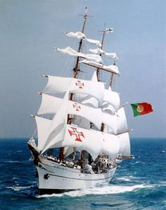 The NRP Sagres is a tall ship and school ship of the Portuguese Navy since 1961…