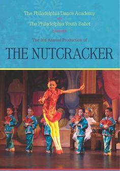 The Nutcracker, presented by The Philadelphia Dance Academy and The Philadelphia Youth Ballet Philadelphia, PA #Kids #Events