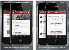 3 Red Cross Emergency Apps to Stay Safe (weather alerts, national shelter system and first aid)