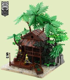 Outpost, Port Emerald | by Ayrlego