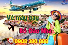 Vé máy bay đi Bồ Đào Nha