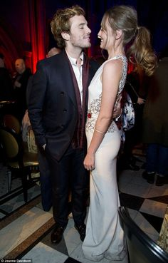 Sam Claflin and wife Laura