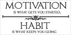 Motivation & Habit
