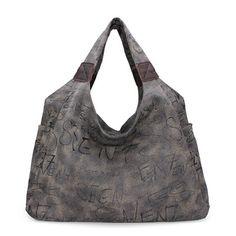 Casual women fashion canvas shoulder bag handbag