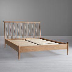 Buy ercol for John Lewis Shalstone Bed Frame, Oak, Double Online at johnlewis.com