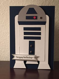 Star Wars R2D2 Greeting Cards - Ash and Feather Designs